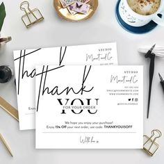 Customer Thank You Note, Business Thank You Notes, Thank You For Order, Thank You For Purchasing, Thank You Customers, Thank You Card Design, Thank You Card Template, Purchase Card, Thanks Card