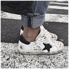 Sneakers are the girl's Best friends ❤️ Ps : une paire de Golden Goose en vente sur mon vide dressing --> sushipedro.tictail.com #goldengoose @lagrandeboutiquelgb ...