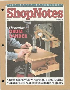 Shopnotes issue 32 by Adrian Kuney - issuu Woodworking Magazines, Woodworking Tips, Parquetry, Finger Joint, Space Time, Garage Shop, Hobbies And Crafts, Carpentry, Tricks