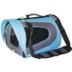 Sporty Airline Pet Carrier SMALL - Blue #fortailsonly Stacie Marshman, Founding Independent Handler, Microchip #FH100 www.fb.com/paradisepetboutique