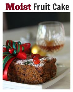 Moist Christmas Fruit Cake: Fruit cake is a traditional British Christmas cake t. , Moist Christmas Fruit Cake: Fruit cake is a traditional British Christmas cake t. Baking Recipes, Cake Recipes, Dessert Recipes, Salad Recipes, Best Fruit Cake Recipe, Delicious Fruit, Delicious Recipes, Christmas Desserts, Christmas Fruitcake