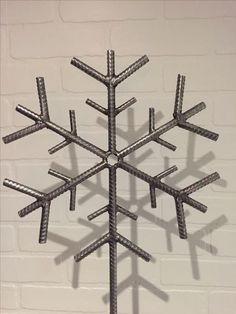 Rebar snowflake By Yanick Bluteau