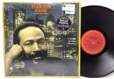 Marvin Gaye Midnight Love in-Shrink w/ Hype Sexual Healing Vinyl Record LP Album