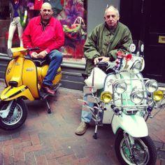 #ScooterRally #Carnaby #Lambretta #Scooterist #sixties