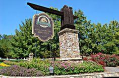 neighborhood entry sign   Chattahoochee River Club is a beautiful, family friendly neighborhood ...