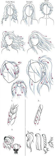 关于头发的画法~[