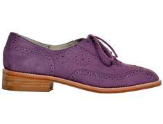 I wish I had purple shoes