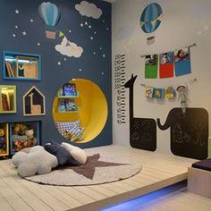 photo via Casa de Valentina ~ #montessori #bedroom #kidsroom #decor #interiors #quartoinfantil #montessoriano #quarto #decoração
