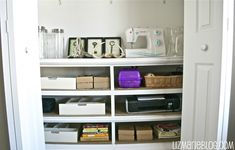 HOW TO: Turn an old, beat-up dresser into shelves, from Liz Marie Blog