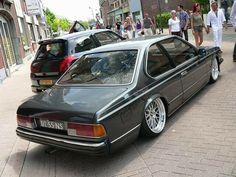 BMW, old school, stanced,
