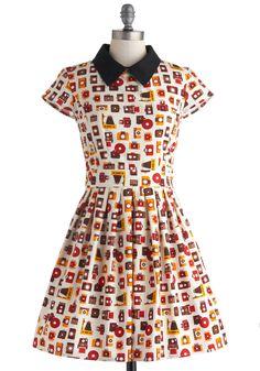 Poise and Click Dress | Mod Retro Vintage Dresses | ModCloth.com