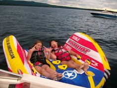 best tubing Raft..I bought it the last summer i owned my boat :(..Now girls and I use it to tan on lolo