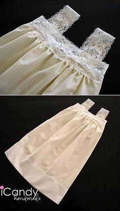 DIY Pillowcase dresses
