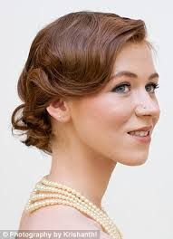 Image result for great gatsby downton abbey hairstyle updo headband