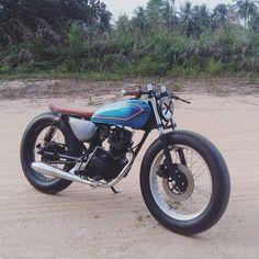 Honda CG125 #bratstyle discover #motomood
