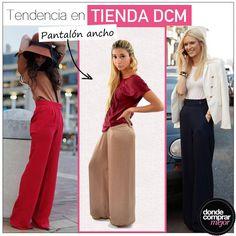 <<<>>>  El must have de esta temporada encontralo en Tienda DCM: www.tiendadcm.com/venta/Pantalon+Ancho/79477
