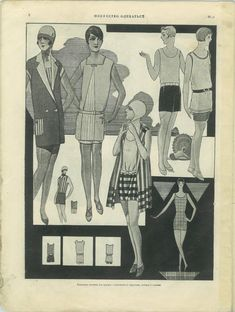 More Russian fashions from 1928!