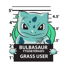 grass user - Pokemon - T-Shirt Cartoon Painting, Cartoon Art, Pokemon Mug, Horror Cartoon, Black Unicorn, Watch Cartoons, Pokemon Images, Mug Shots, Cute Drawings