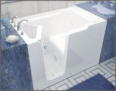 Innovative's Cardinal Walk-In Bathtub - Innovative Baths and Remodeling Walk In Bathtub, Colored Tape, Walk In Tubs, Shower Cubicles, Construction Materials, Modular Homes, Shower Doors