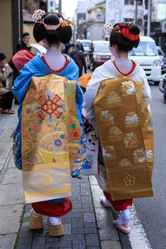 Oiran & Geisha | Others photos of the maiko Masaki and the maiko...