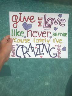 Give Me Love- Ed Sheeran