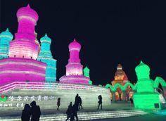 Frozen em Harbin, a encantadora cidade de Gelo! A China e suas várias facetas.