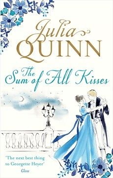 The Sum of All Kisses by Julia Quinn, UK edition.