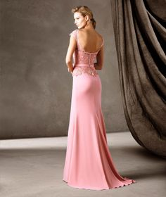 CARMEN - Vestido largo de fiesta Pronovias