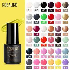 ROSALIND gel nail polish Hybrid manicure nail gel Set For Manicure nails art UV Gel varnishes polish – GoodAli Gel Polish Brands, Uv Gel Nail Polish, Uv Gel Nails, Professional Nail Art, Cuticle Oil, Manicure Set, Soak Off Gel, Uv Led, Natural Nails