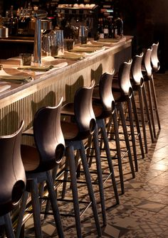 Nico Osteria at Thompson Chicago interior architecture and design by Tara Bernerd & Partners, photo by Philip Vile