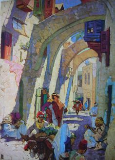 The Way of the Cross by Dean Cornwell