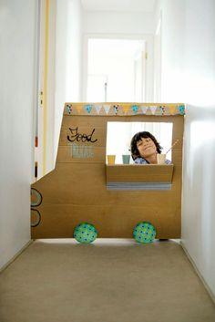 DIY Cardboard Food T