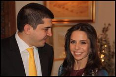 Former Queen Noor of Jordan's daughter Princess Iman is engaged to Zaid Mirza
