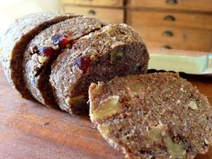 Not really a summer dish, but worth saving for later. - Raw banana and date loaf