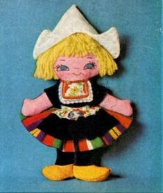 Dutch doll...free pattern and instructions