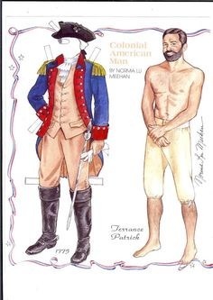 Colonial American Man