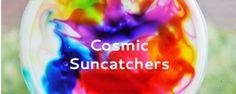Art for Kids: Cosmic Suncatchers - Babble Dabble Do Something easy and fun...@Amber Rugan