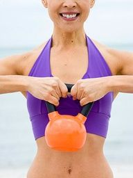"""A 20-minute Kettlebell workout is worth about an hour on the treadmill."""""""
