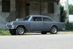 'Two-Lane Blacktop' 1955 Chevy two-door sedan heads to auction | Hemmings Daily