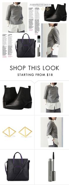 OOTD - Gray Top by by-jwp on Polyvore featuring Steve Madden, Arme De L'Amour, MAC Cosmetics and Illamasqua