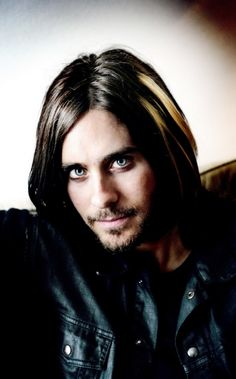 Jared Leto.......Whatever Jared stop pretending that your not attractive, even though that behavior is really appealing:)