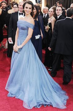Penélope Cruz de Armani Privé en los Oscar 2012
