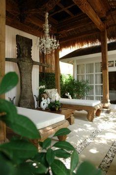 Bali indoor / outdoor living