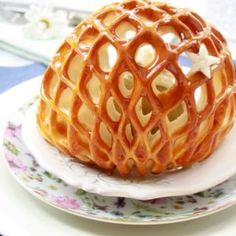 the prettiest baked apple recipe...wow! Needs translation but totally worth it for someday!!!