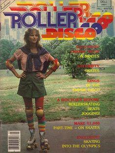 Roller Skate Disco 1970s 1980s