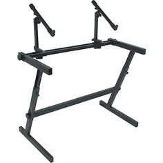 Quik-Lok Two Tier Z Keyboard Stand Playing Guitar, Wardrobe Rack, Micro Studio, Home Studio Setup, Music Store, Learn To Play Guitar, Drafting Desk, Musical Instruments, Piano