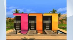 Découvrez ce terrain dans la Galerie Les Sims 4 ! - New and improved version. Functions as a normal residential lot. Comes with a colorful and modern interior design :] Fully #playtested. Please do not reupload, thank you! Enjoy ^__^ Made by #PurpleKachina #NoCC #Modern #Pool #Kazumi #Apartments #Colorful #avenue5 #moo #moveobjects