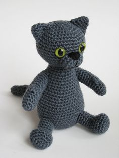 A Russian Blue - reminds me of my old cat! <3