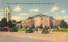Shrine and Church of the Little Flower, Royal Oak Detroit, MI