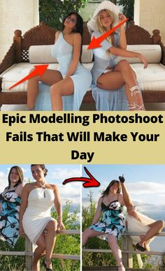 Epic Modelling Photoshoot Fails That Will Make Your Day